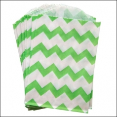 Whisker Graphics Little Bitty Bag Chevron Green