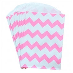 Whisker Graphics Little Bitty Bag Chevron Pink