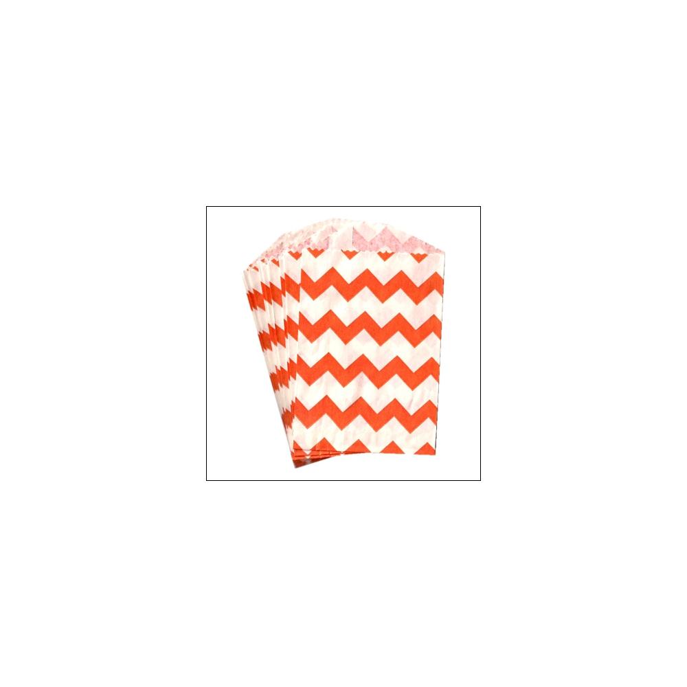 Whisker Graphics Little Bitty Bag Chevron Orange