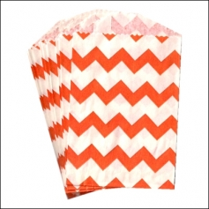 Whisker Graphics Little Bitty Bag Chevron Orange