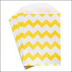 Whisker Graphics Little Bitty Bag Chevron Yellow
