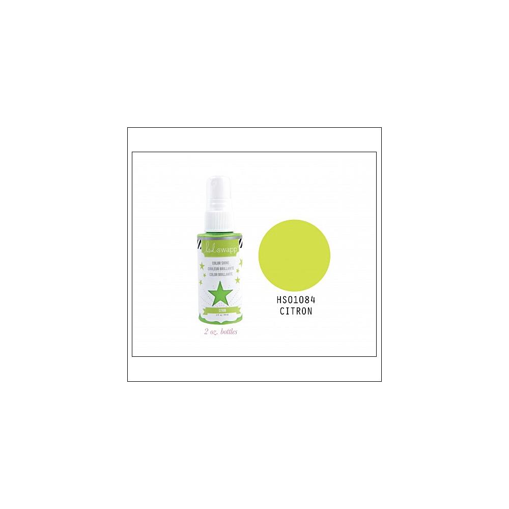 Heidi Swapp Color Shine Iridescent Spritz Citron