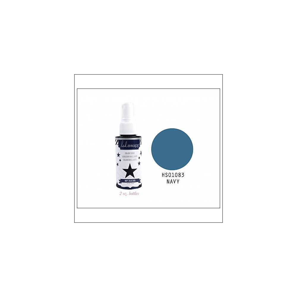 Heidi Swapp Color Shine Iridescent Spritz Navy