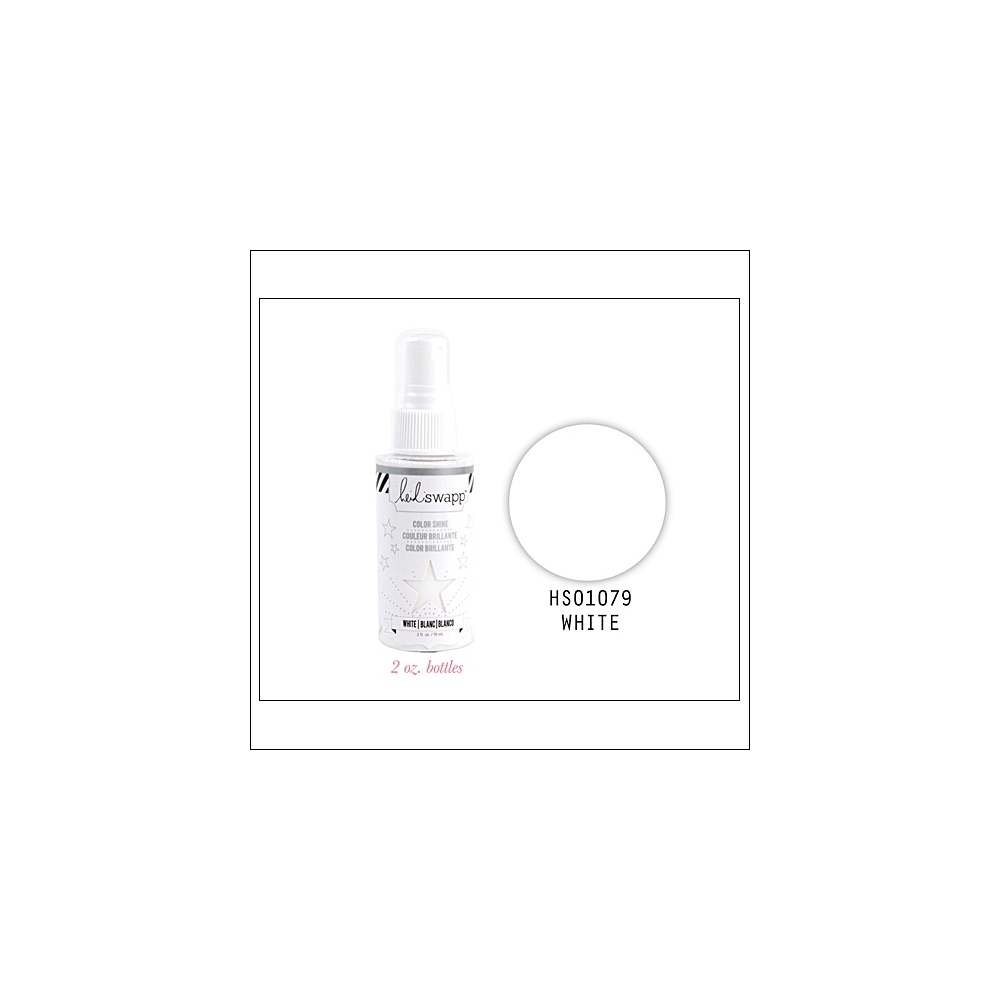 Heidi Swapp Color Shine Iridescent Spritz White