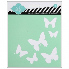 Heidi Swapp Stencil Butterfly 6x6