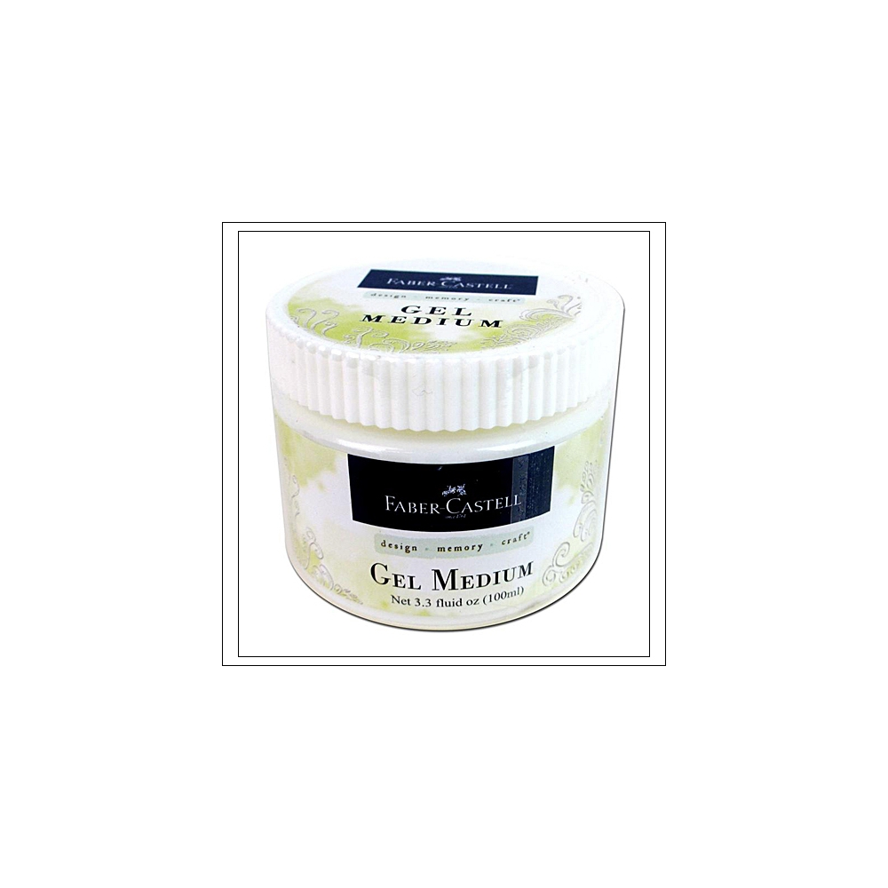 Faber Castell Prep and Finish Gel Medium Jar