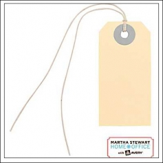 Martha Stewart Home Office Mini Manila Tags