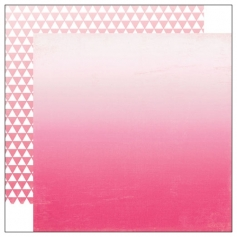Echo Park Paper Co Ombre Hot Pink Essentials Collection