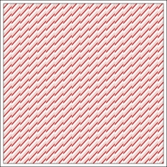Studio Calico Vellum Paper Sheet Candy Stripe Magical Collection