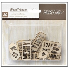 Studio Calico Wood Veneer Speech Bubbles Magical Collection
