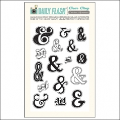 October Afternoon Clear Stamps & Then Daily Flash Collection