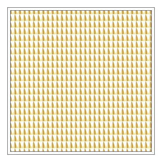 Studio Calico Kraft Paper Sheet Gold Avalon Atlantic Collection