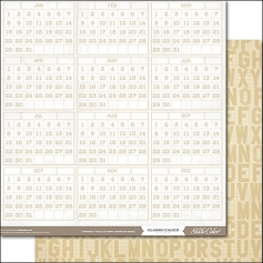 Studio Calico Paper Sheet Timesheet Classic Calico Vol. 3 Collection