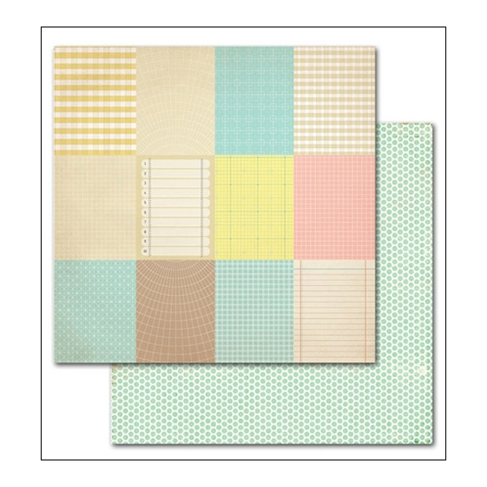 Studio Calico Paper Sheet Dew Heyday Collection