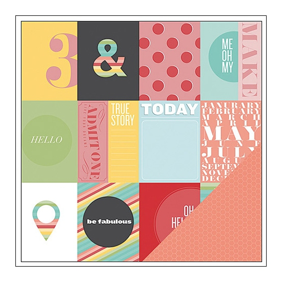 Studio Calico Paper Sheet Me Oh My Snippets Collection