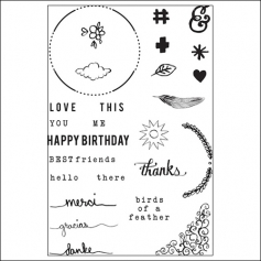 Studio Calico Clear Stamps Love This Sundrifter Collection