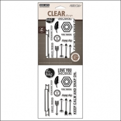Studio Calico Clear Stamps Oh Snap