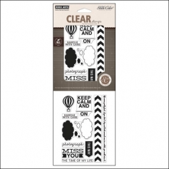 Studio Calico Clear Stamps Thoughts Heyday Collection