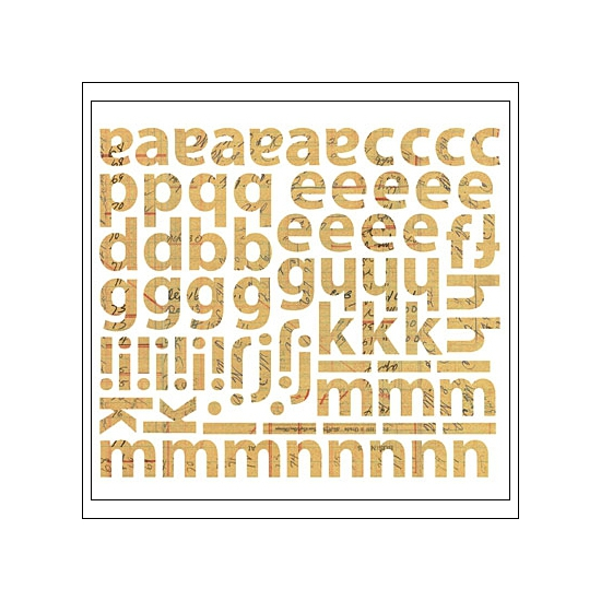 Sassafras Cardstock Stickers Krafty