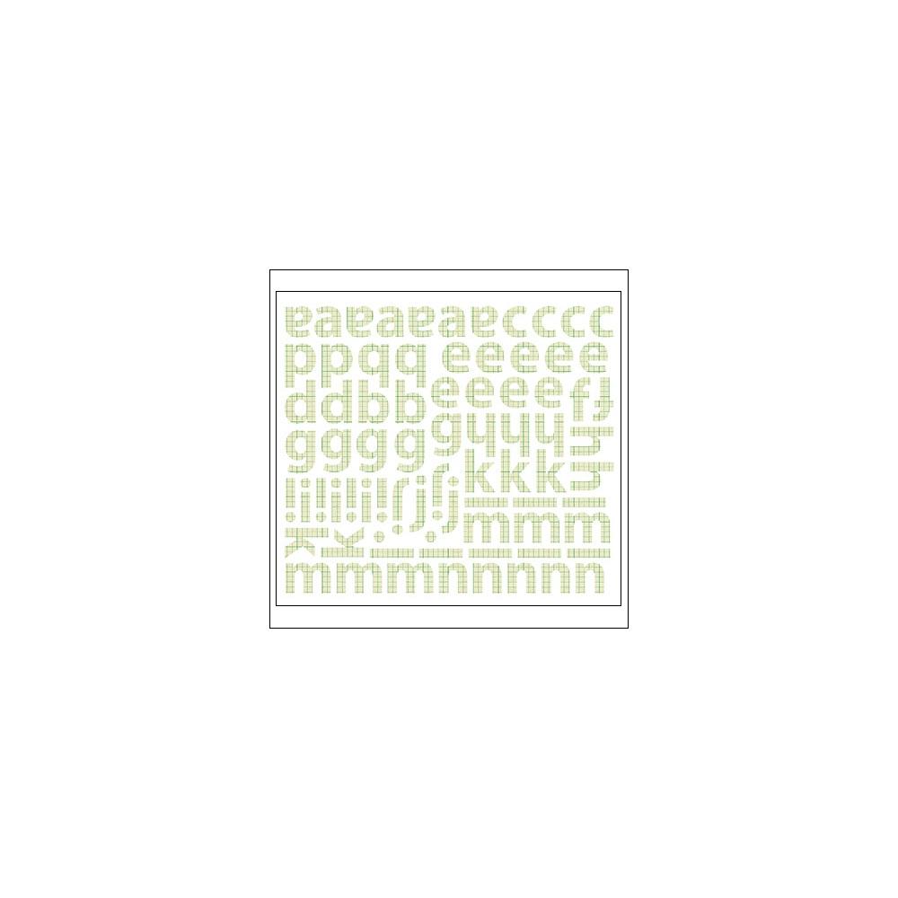 Sassafras Cardstock Stickers Green Graph