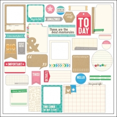 Elles Studio Bits and Pieces Everyday Moments Collection