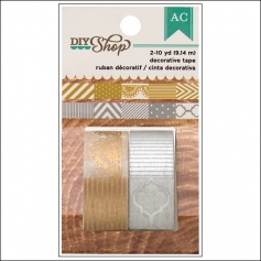 American Crafts Washi Tape Gold and Silver DIY Shop Collection