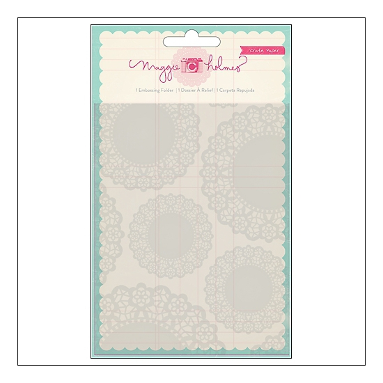Crate Paper Embossing Folder Styleboard Collection by Maggie Holmes