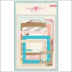 Crate Paper Vintage Paper Die Cut Frames Styleboard Collection by Maggie Holmes