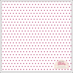 Crate Paper Printed Vellum Dots Pink Oh Darling Collection