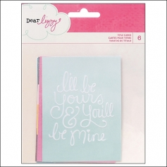 American Crafts Tittle Cards Daydreamer Collection by Dear Lizzy