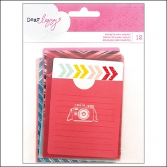 American Crafts Pockets With Inserts Daydreamer Collection by Dear Lizzy