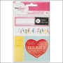 American Crafts Accent and Phrase Sticker Book Daydreamer Collection by Dear Lizzy