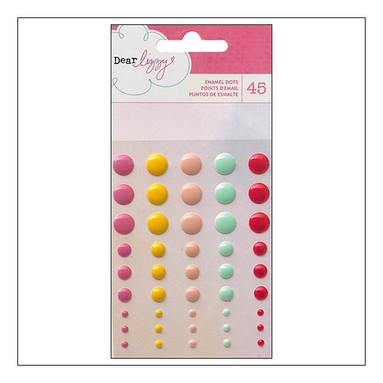 American Crafts Enamel Dots Daydreamer Collection by Dear Lizzy