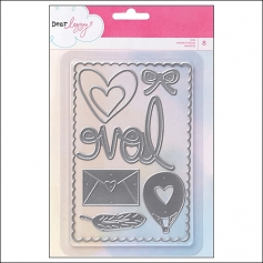 American Crafts Die Set Daydreamer Collection by Dear Lizzy