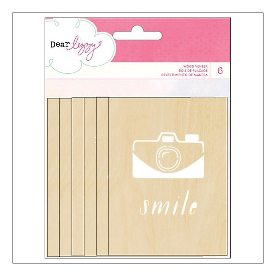 American Crafts Wood Veneer Cards Daydreamer Collection by Dear Lizzy