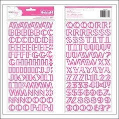 American Crafts Thicker Stickers Foam Treehouse Pink Daydreamer Collection by Dear Lizzy