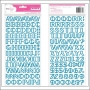 American Crafts Thicker Stickers Foam Treehouse Blue Daydreamer Collection by Dear Lizzy