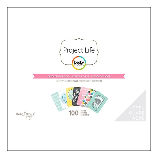American Crafts Project Life Mini Kit Daydreamer Edition by Dear Lizzy/Becky Higgins