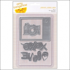 American Crafts Die Set Plus One Collection by Amy Tangerine