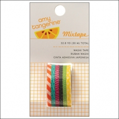 American Crafts Mini Washi Tape Rolls Plus One Collection by Amy Tangerine