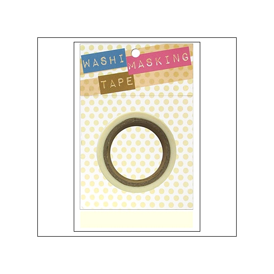 Darice Washi Tape White