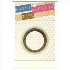 Darice Washi Tape White