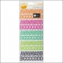 American Crafts Remarks Letter and Number Stickers Book Palette Plus One Collecion by Amy Tangerine
