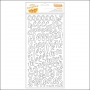 American Crafts Thicker Stickers Foam White Kal Barteski Plus One Collection by Amy Tangerine