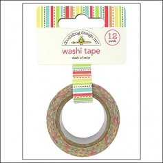 Doodlebug Washi Tape Dash of Color