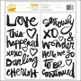 American Crafts Thicker Stickers Foam Black Twins Kal Barteski Plus One Collection by Amy Tangerine