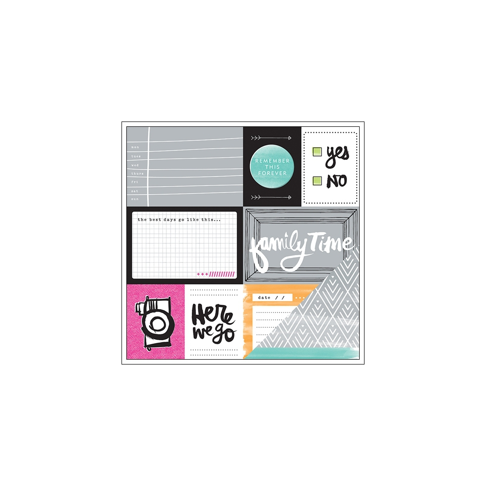 American Crafts Paper Sheet Pair Plus One Collection by Amy Tangerine