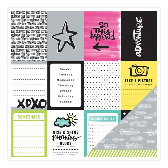 American Crafts Paper Sheet Combo Plus One Collection by Amy Tangerine