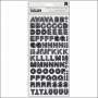 American Crafts Thicker Stickers Chipboard Sketchbook Charcoal DIY Shop Collection