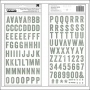 Studio Calico Thicker Stickers Chipboard Printshop Wanderlust Collection